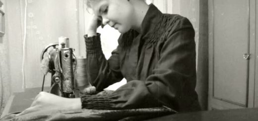 Kidulių dvaro siuvėja